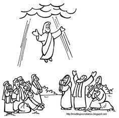 best ascension images. Heaven clipart died jesus