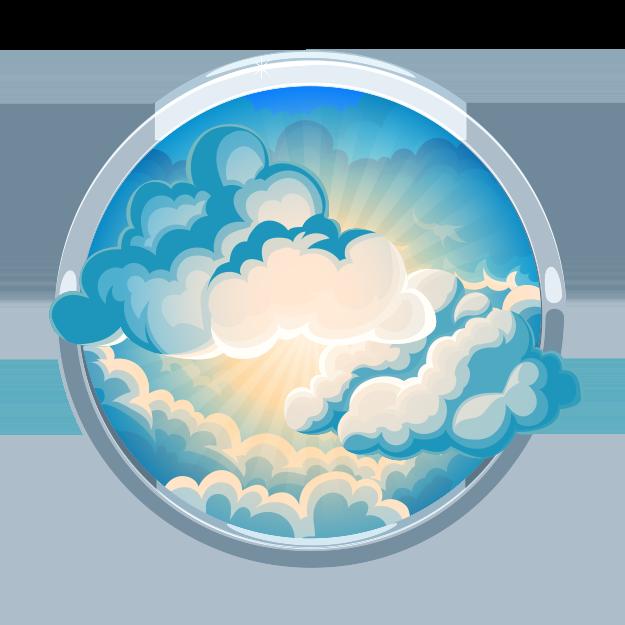 Heaven clipart heaven cloud. Jesus returns to bible