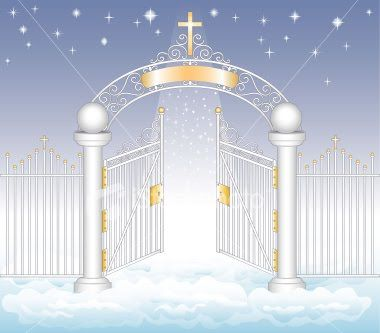 Pin on crafts of. Heaven clipart heaven's gate