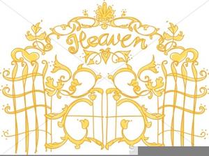 Heaven clipart heaven's gate. Of christian symbols heavens