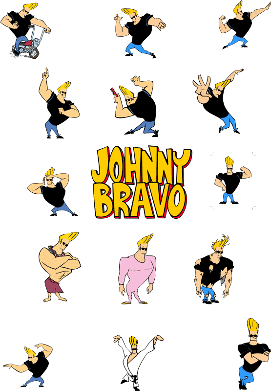 Johnny bravo characters cartoon. Heaven clipart homeland