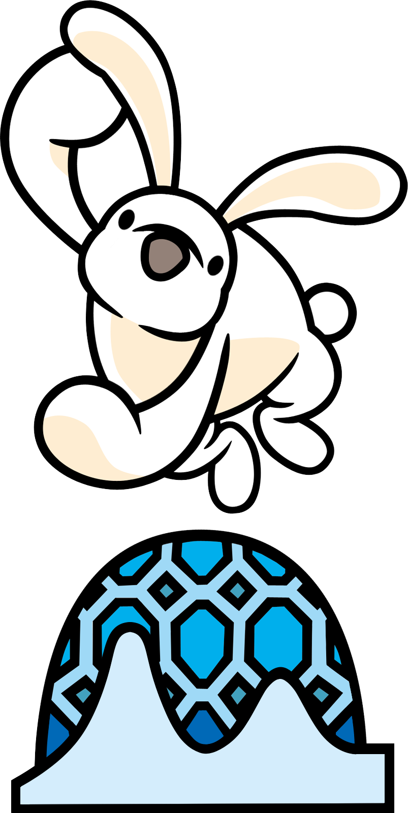 White bunny rhythm wiki. Heaven clipart kingdom heaven