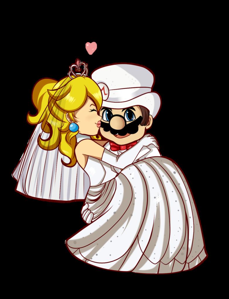 Heaven clipart novice. Nintendo wedding peach by