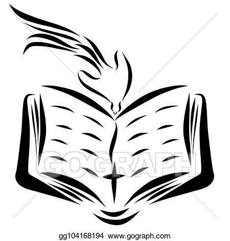 Heaven clipart open. Stock illustrations an bible