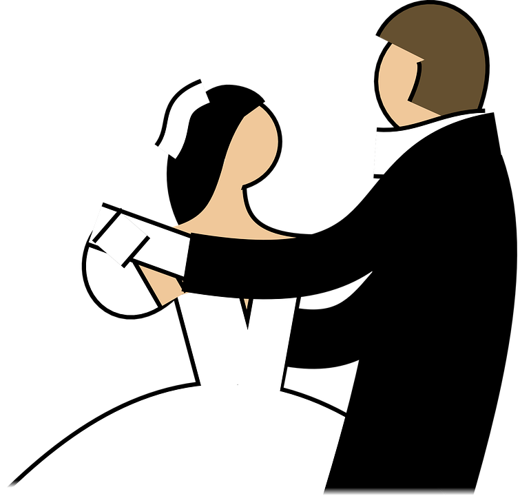 Husband sees his wife. Heaven clipart pearly gates
