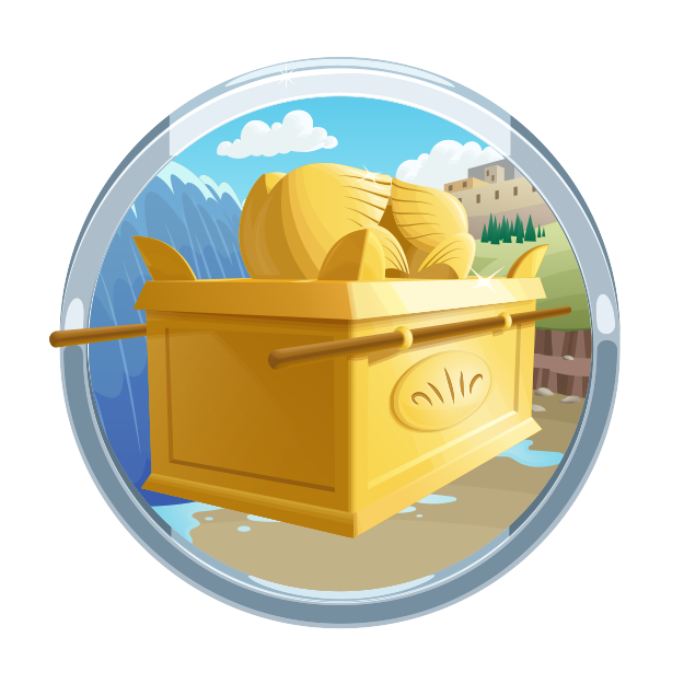 Entering the bible app. Heaven clipart promised land