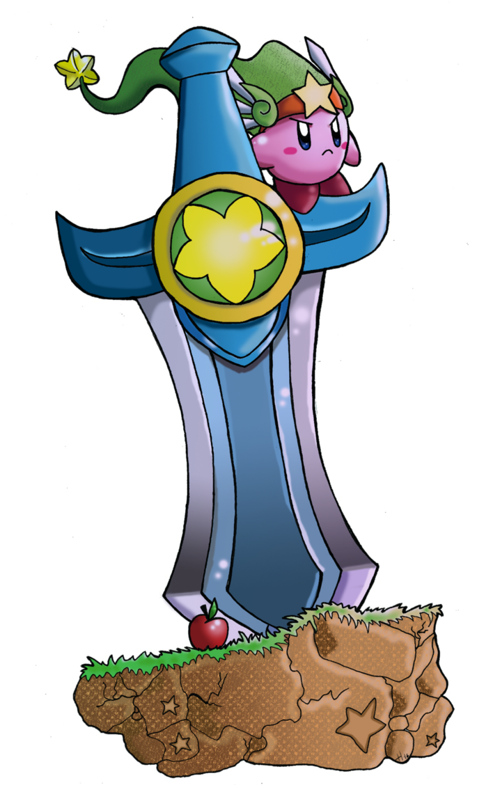 Heaven clipart savior. Kirby ultra sword by