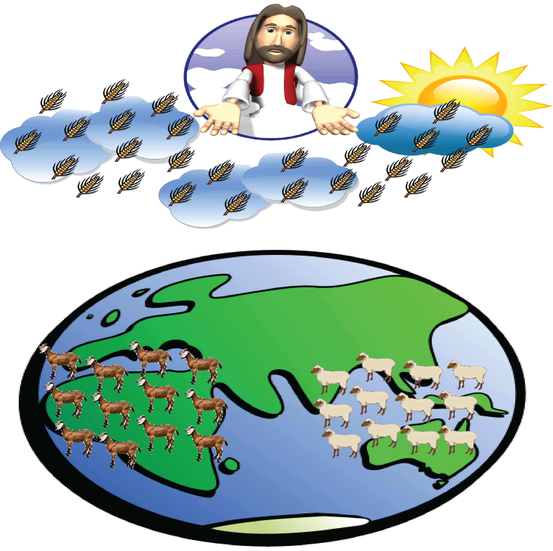 Bible the great tribulation. Heaven clipart second coming