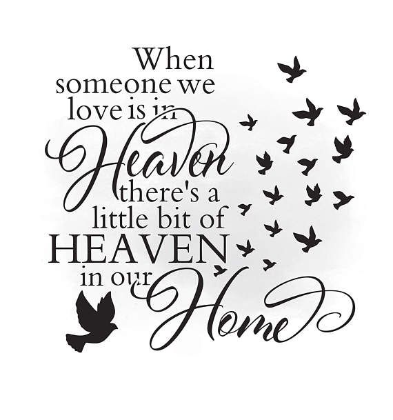 Heaven clipart svg. In our home loving