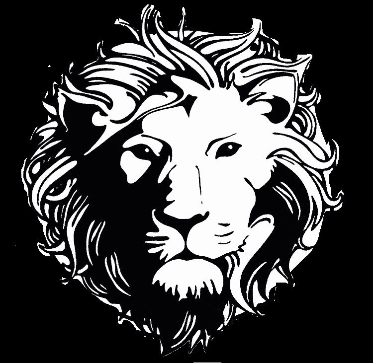 Versus versace lion head. Heaven clipart tattoo design gates