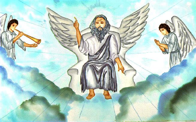 Art clip ii on. Heaven clipart throne god