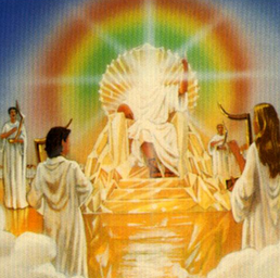Heaven clipart throne god. Before the of go
