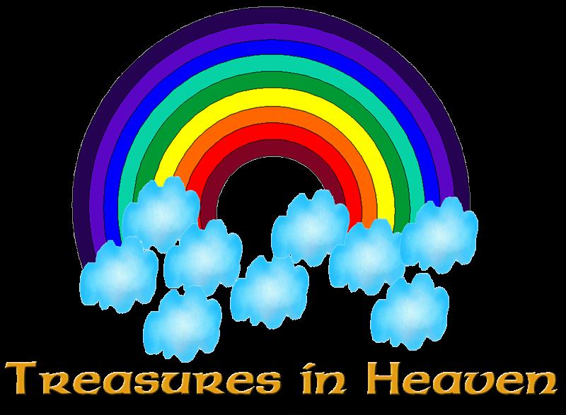 Heaven clipart treasure in heaven. Heavens blessings tiny zoo