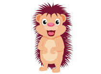 Free clip art pictures. Hedgehog clipart