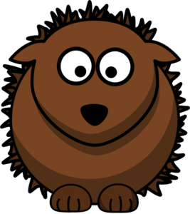 Hedgehog clipart. Clip art at clker