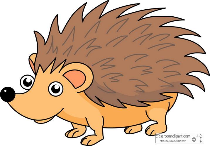 . Hedgehog clipart