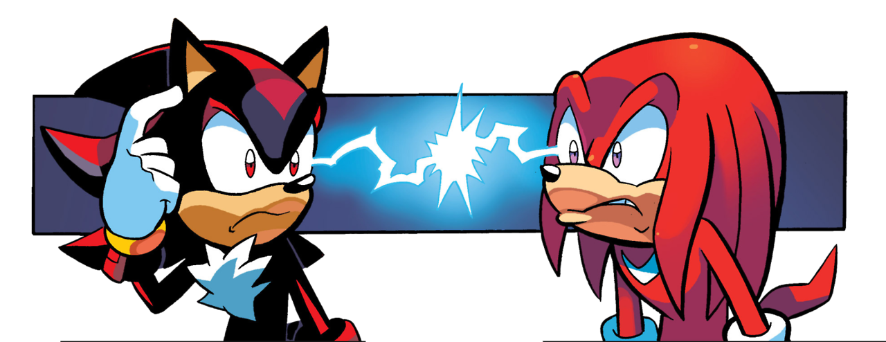 Knock knuckles the echidna. Hedgehog clipart angry