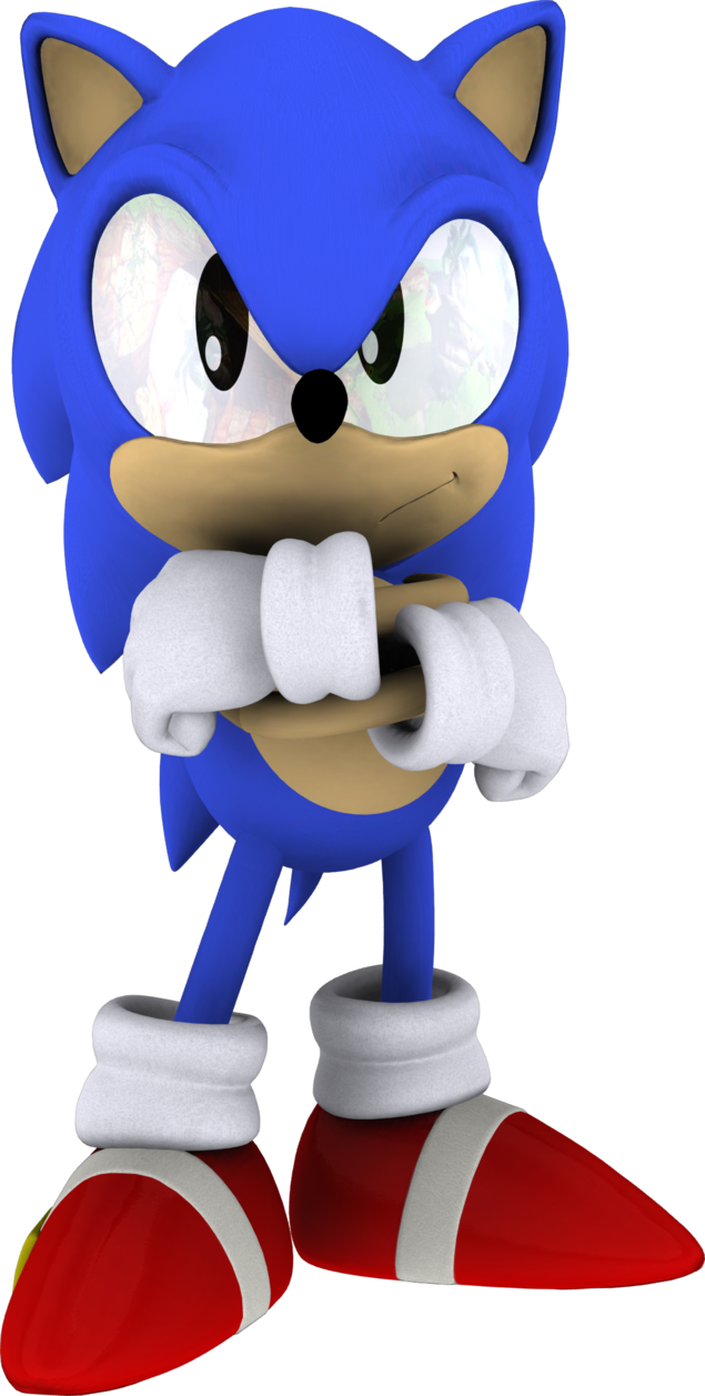 Hedgehog clipart angry. Image classic sonic png