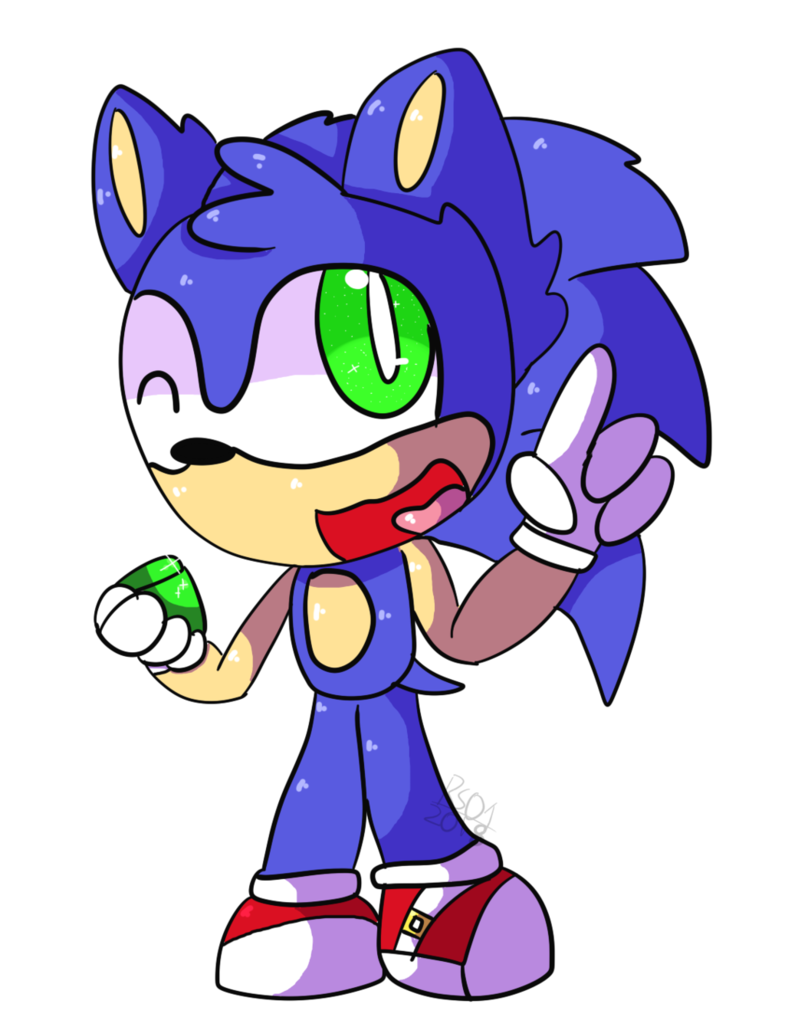 Hedgehog clipart chibi. Sonic the by raysonic