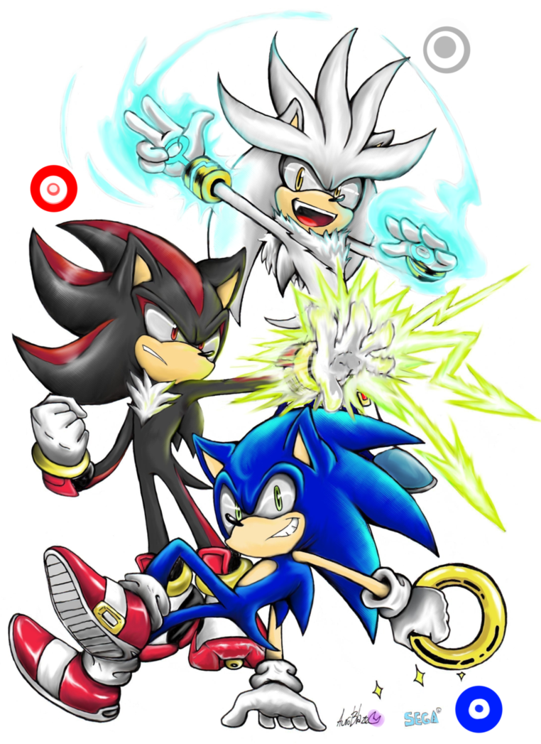 The trio colored by. Hedgehog clipart colorful