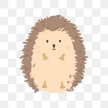 Hedgehog clipart comic. Png vector psd and