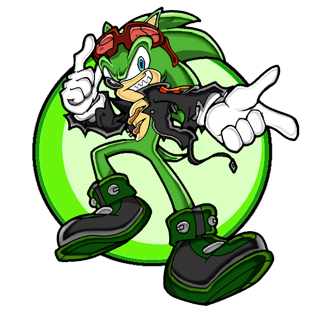 Scourge the archie sonic. Hedgehog clipart comic