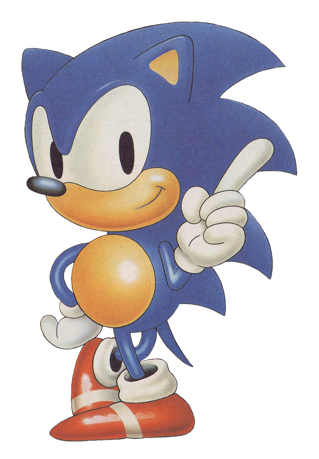Hedgehog clipart comic. Sonic the japan cover