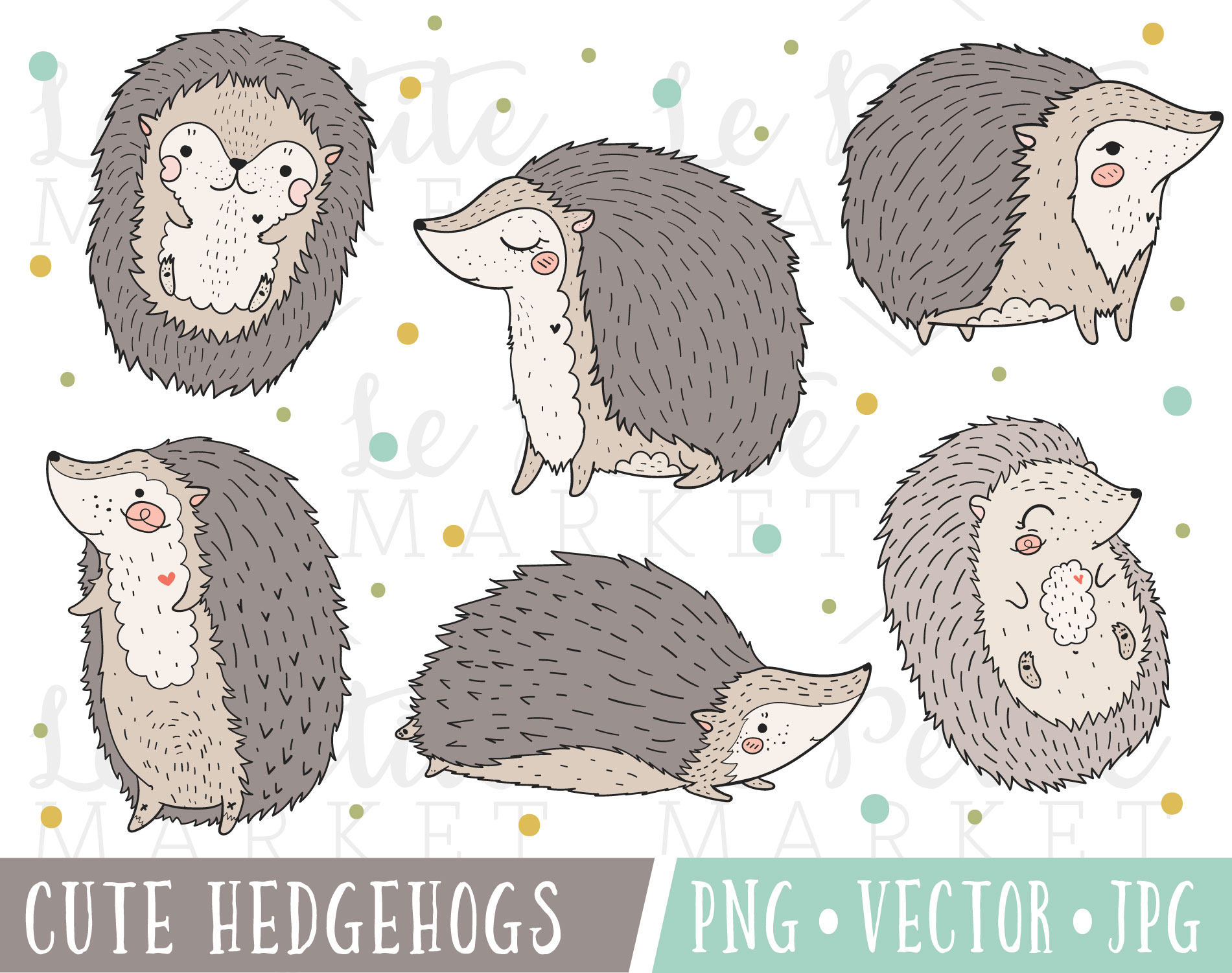 Hedgehog clipart cute. Images kawaii clip art