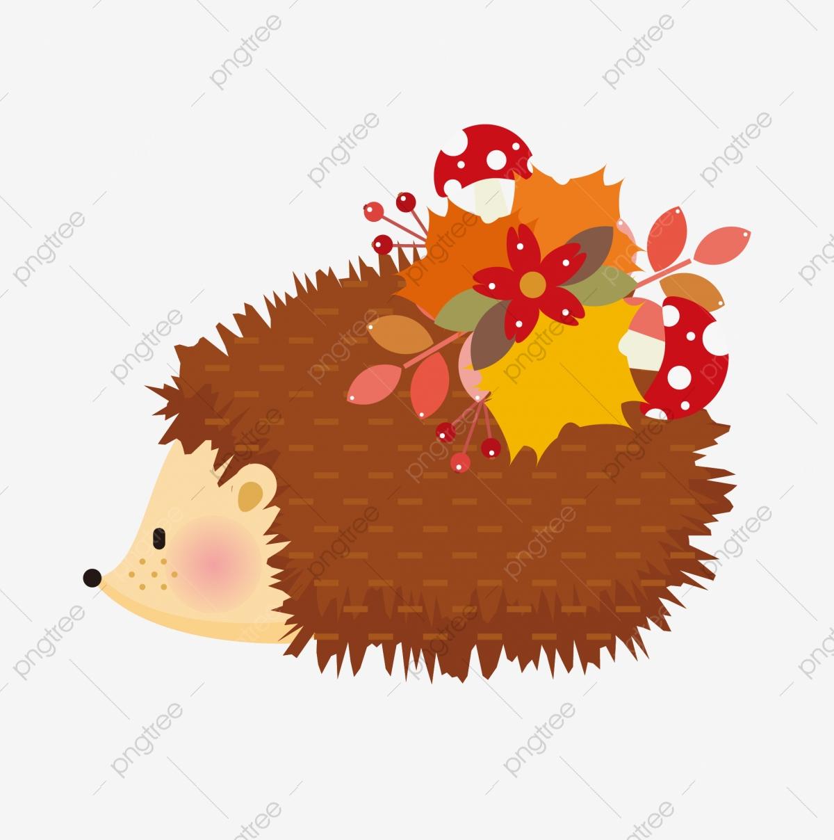 Hedgehog clipart hedgehod. On the stump grey