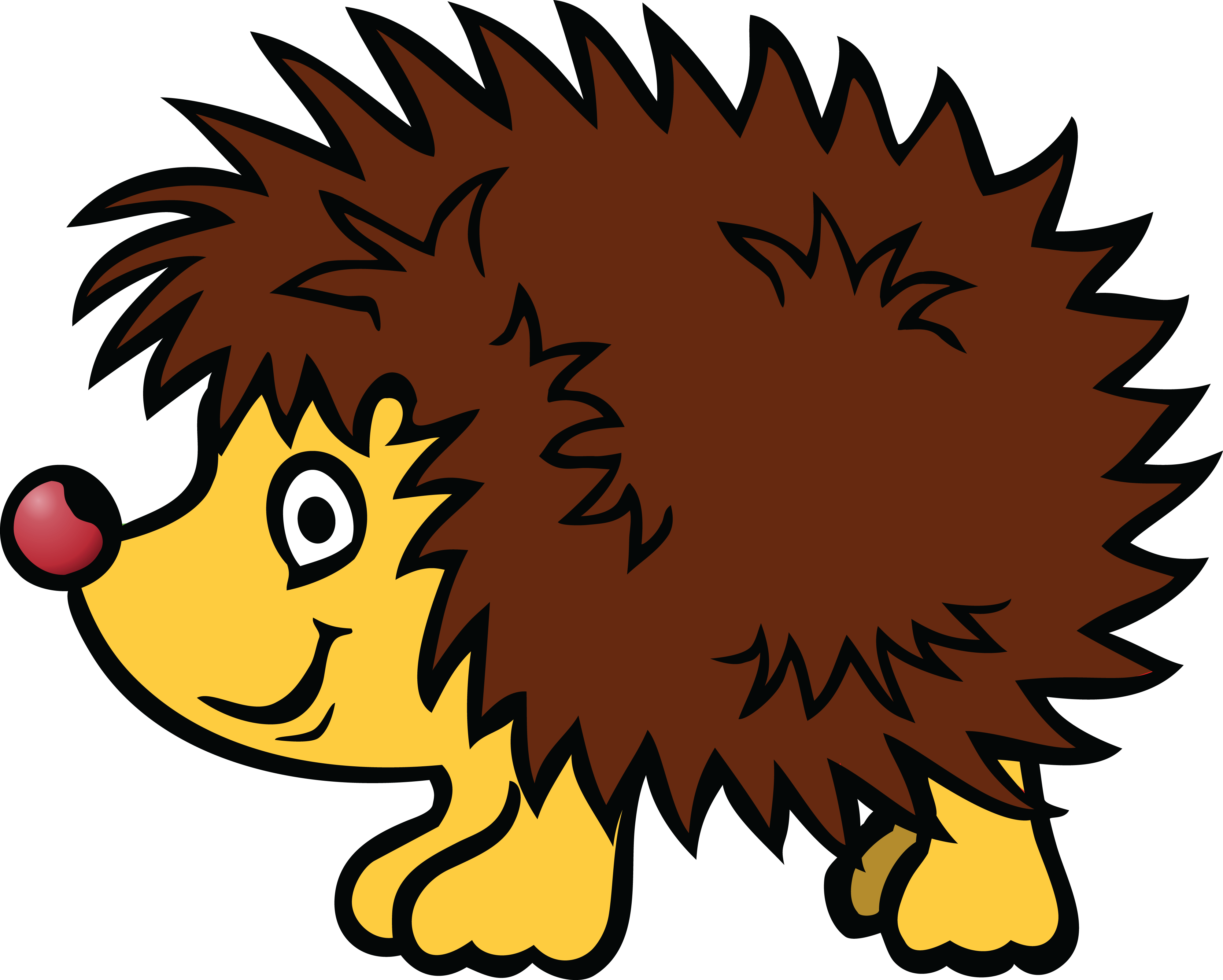 Hedgehog clipart hedgehog face.  collection of png