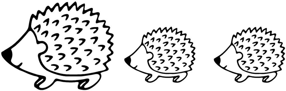 Pick your design rock. Hedgehog clipart hedgehog family
