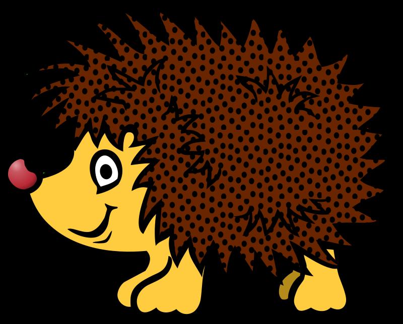 Coloured medium image png. Hedgehog clipart hedgehog outline