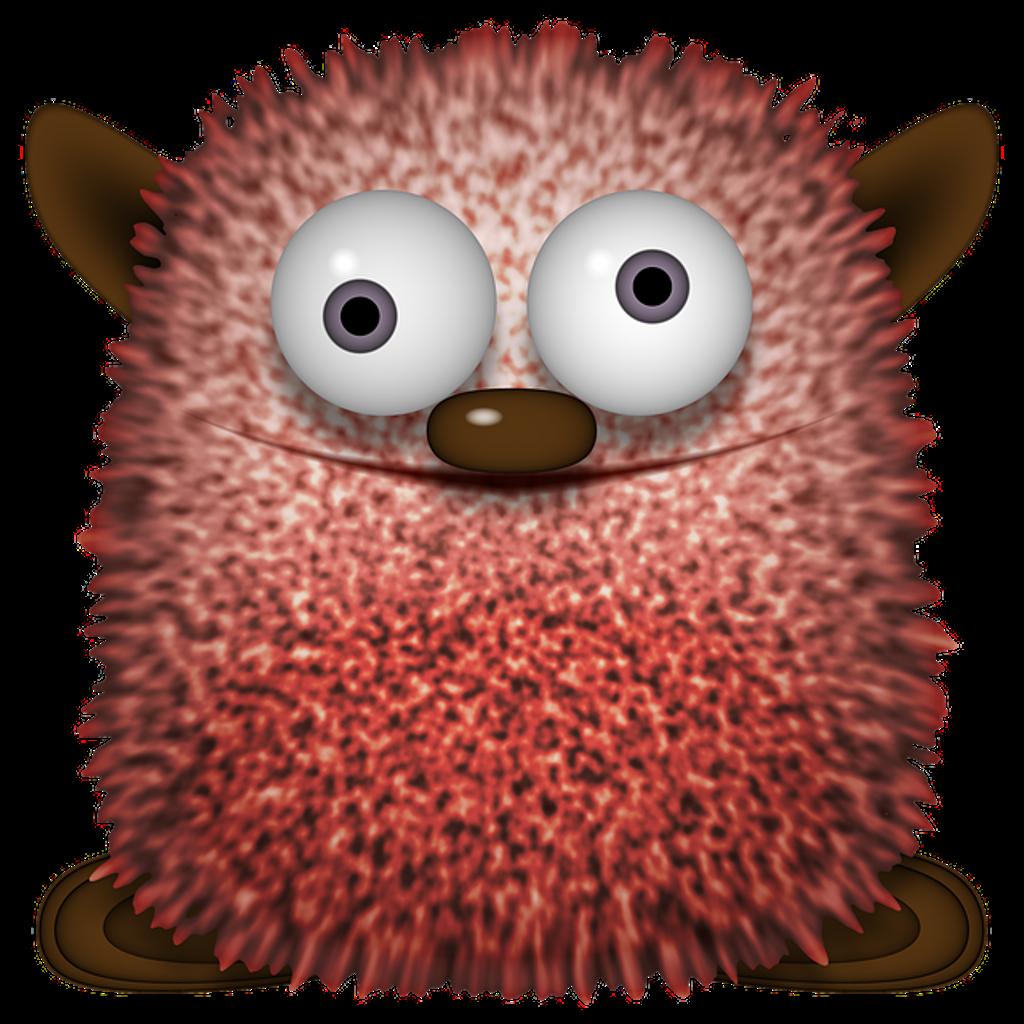 Hedgehog clipart kawaii. Monster cute creature funny