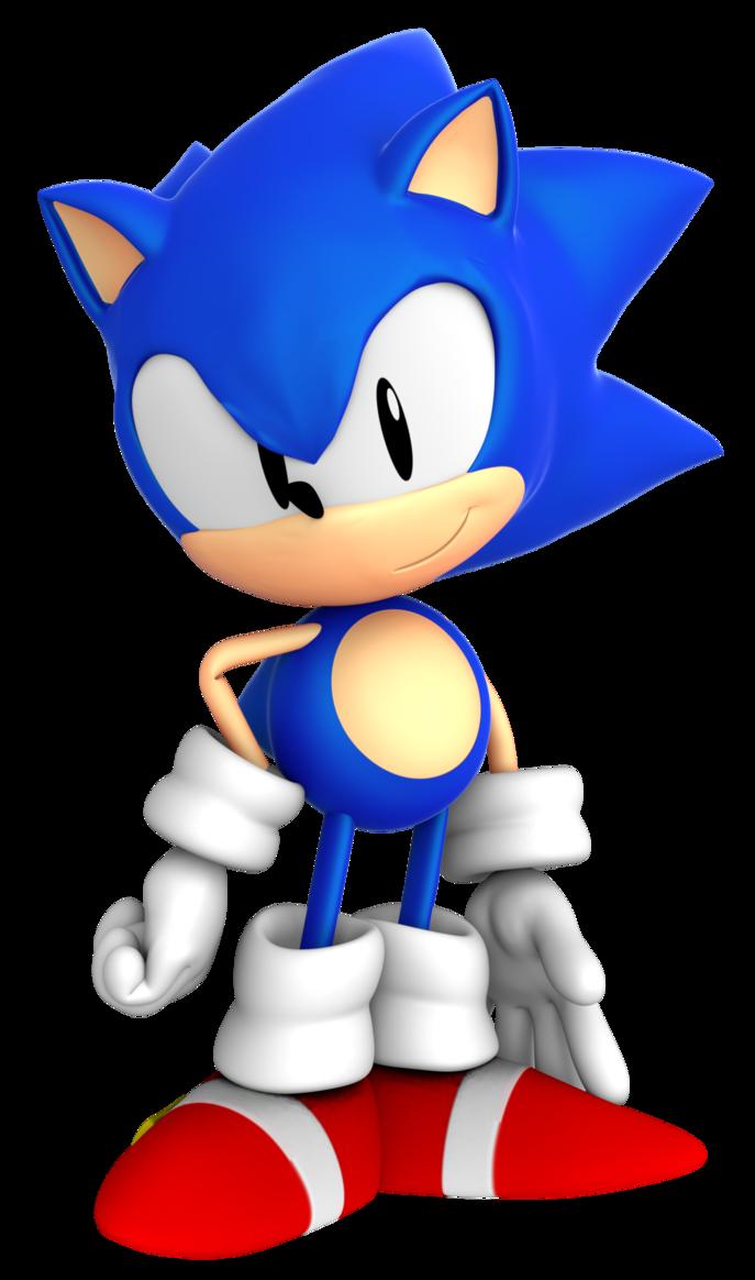 Hedgehog clipart kawaii. Sonic mega drive pose