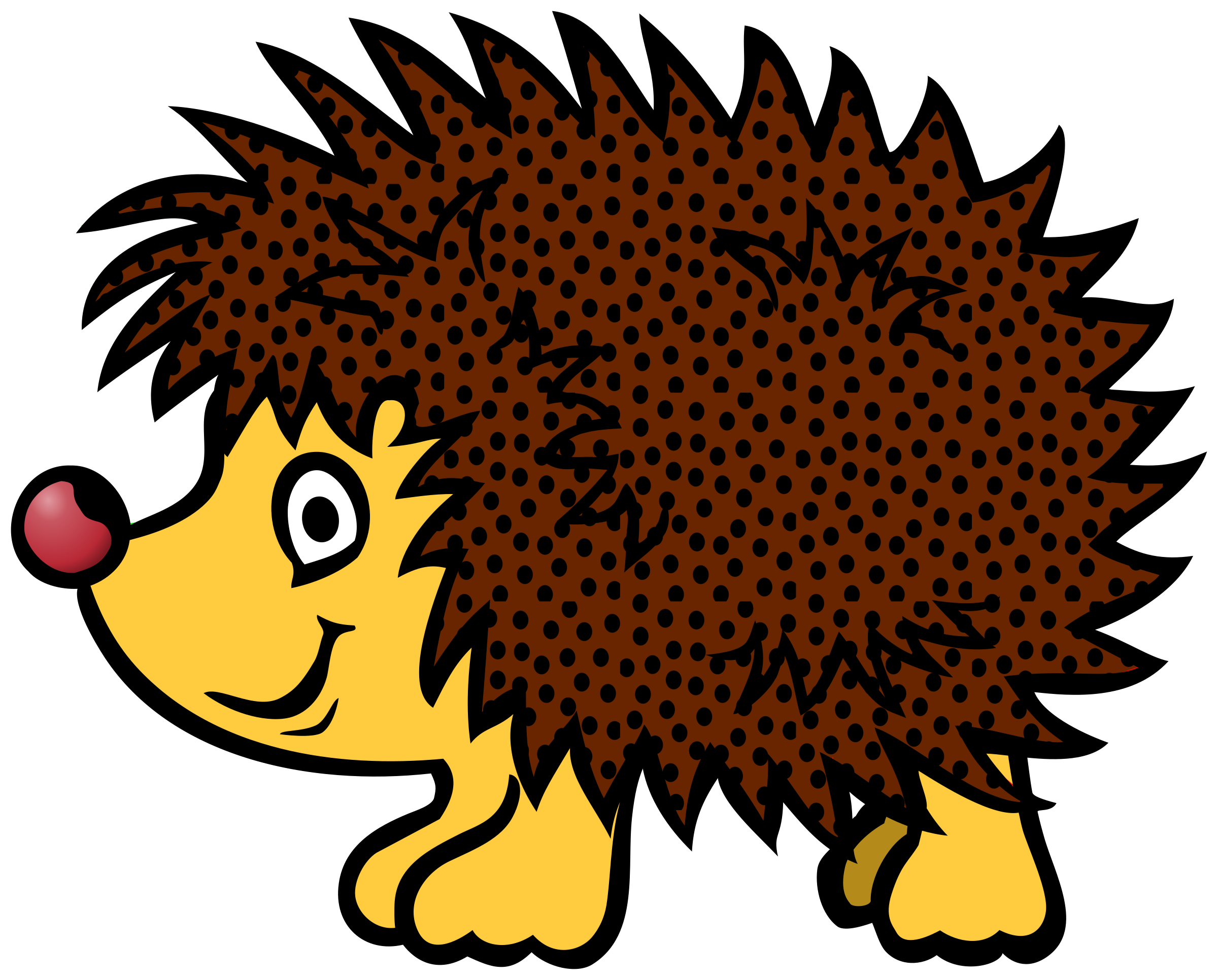Hedgehog clipart kawaii.  collection of png