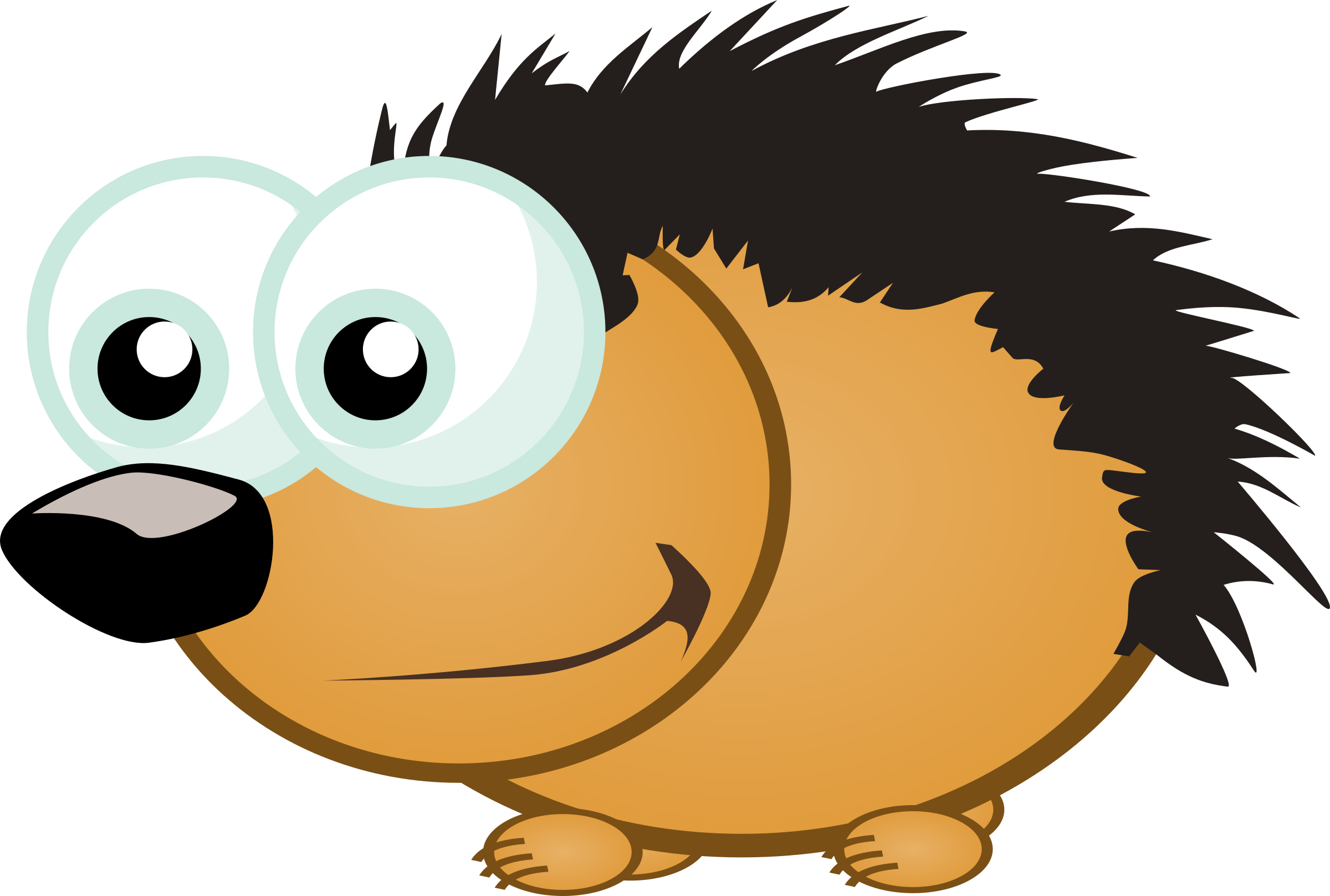 Hedgehog clipart porcupine. Small big image png