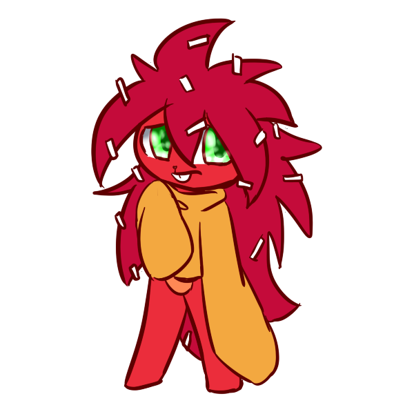 Htf flaky the red. Hedgehog clipart porcupine