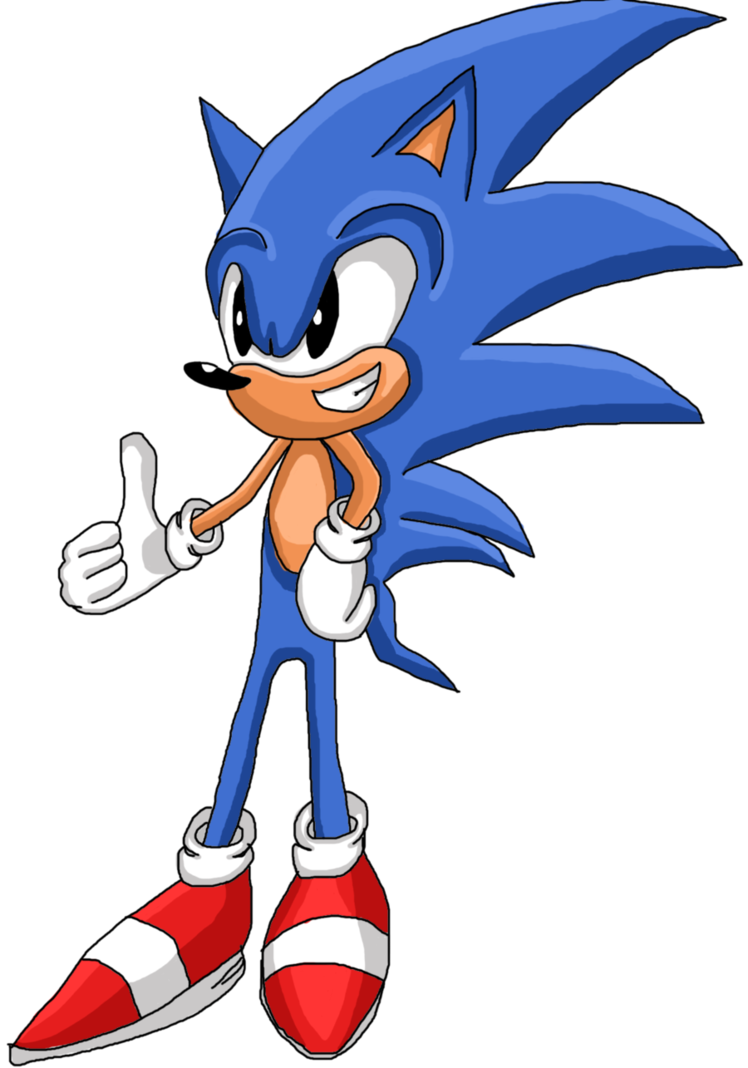 Hedgehog clipart sad. Sonic the classic by