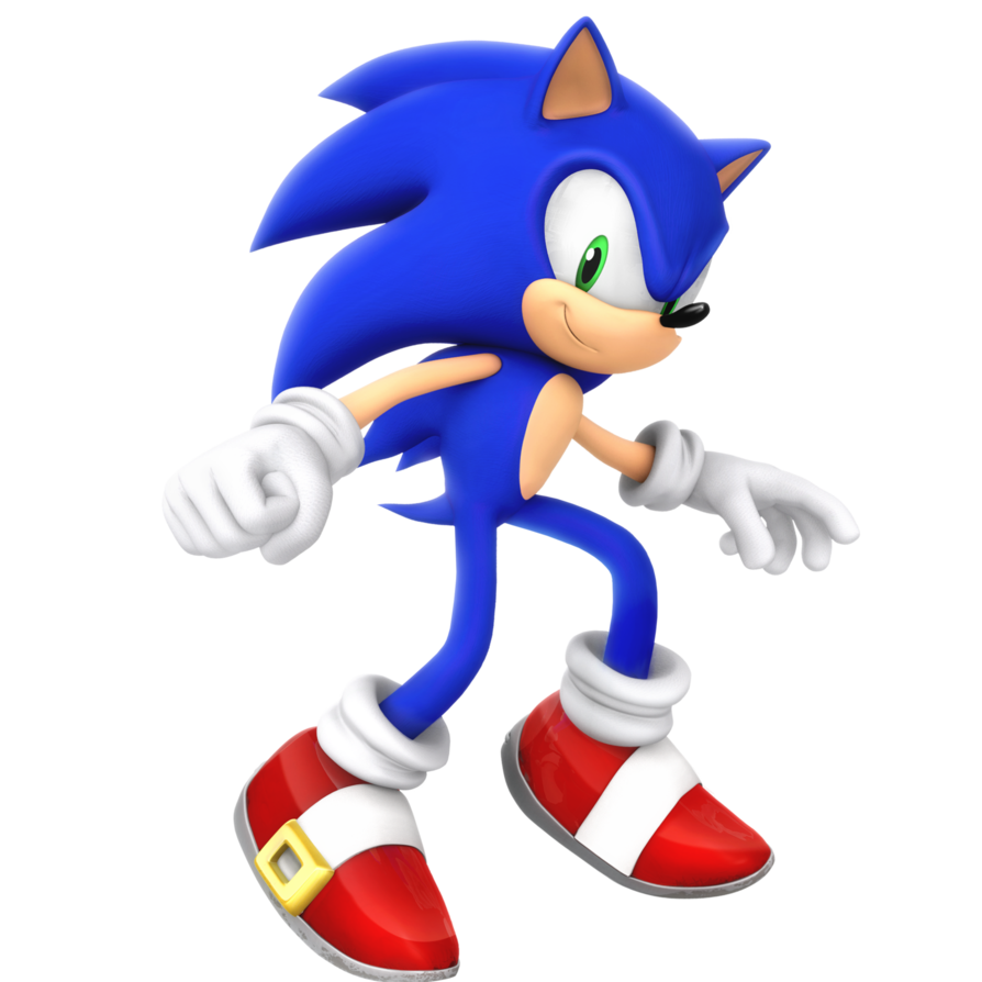 Sonic time rival race. Hedgehog clipart simple