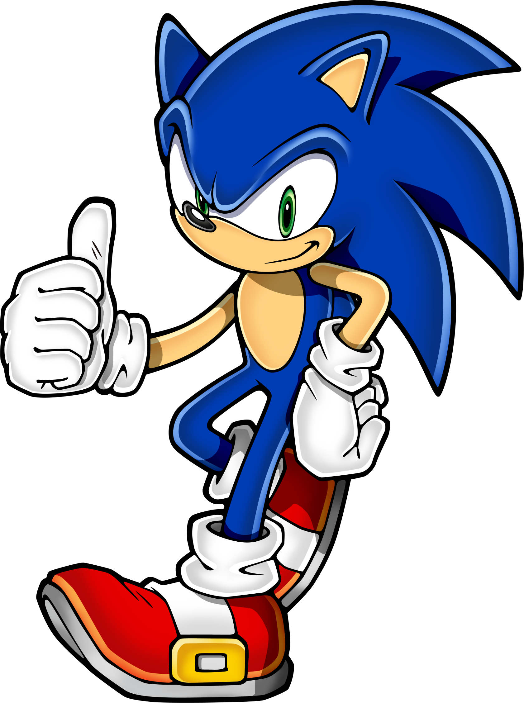 Hedgehog clipart simple. Sonic art assets dvd