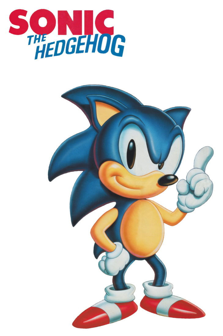 Hedgehog clipart simple cartoon. Sonic the american poster