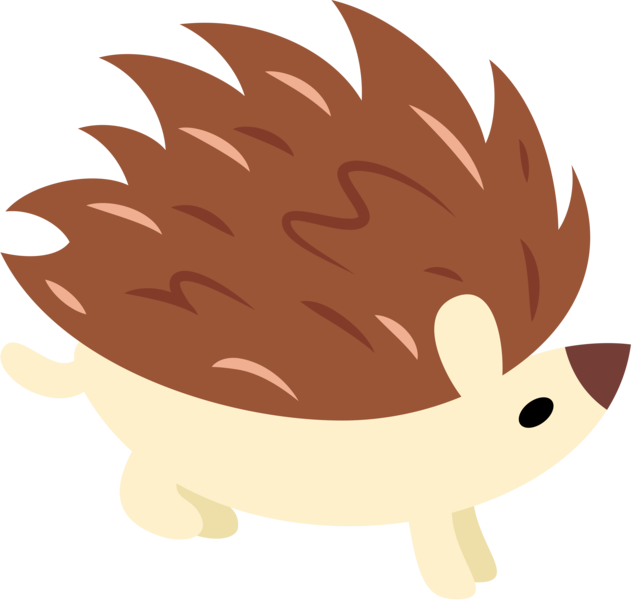 artist lahirien crusaders. Hedgehog clipart simple cartoon