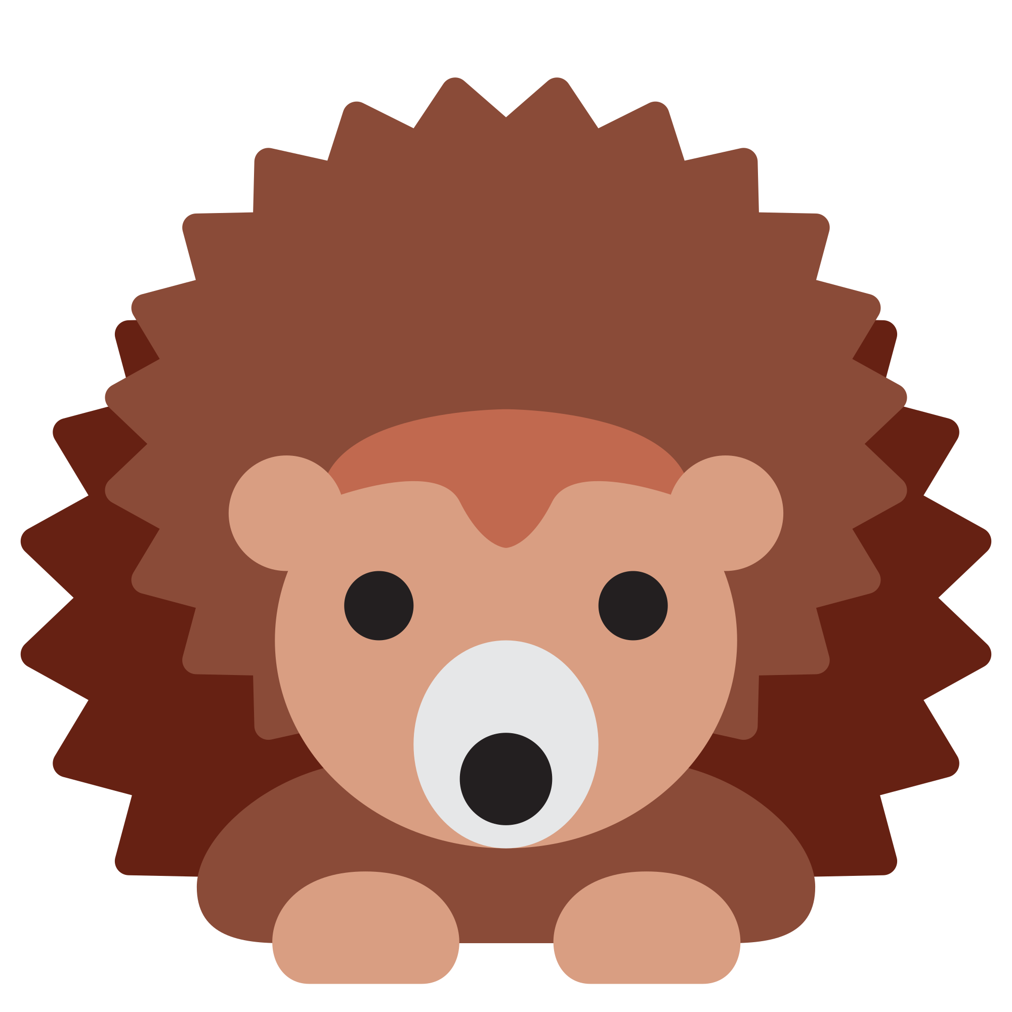 File twemoji f wikimedia. Hedgehog clipart svg
