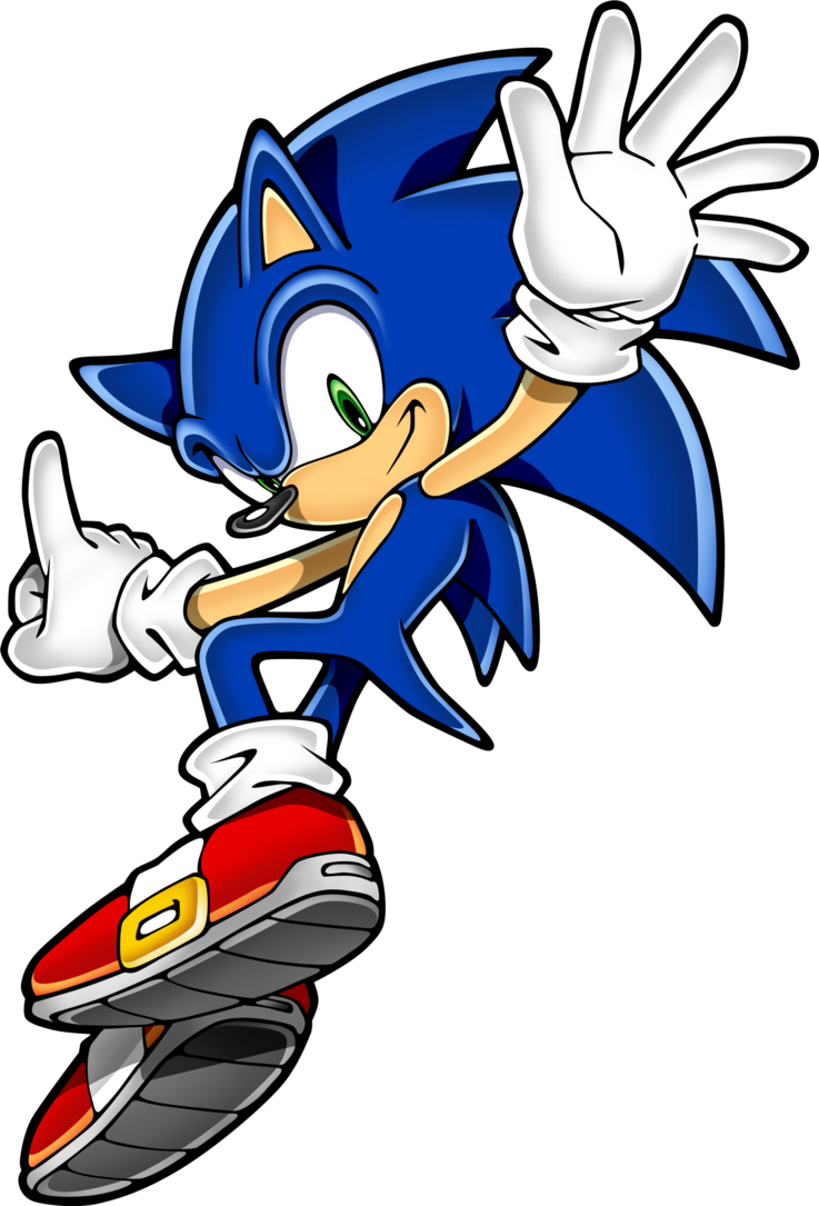Hedgehog clipart svg. Sonic by rosyfan on