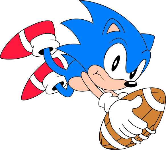 Hedgehog clipart svg. File classic sonic football
