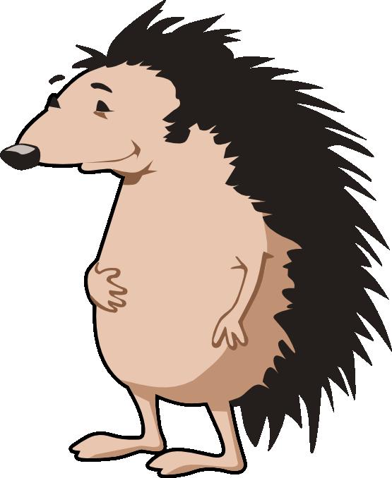 Clipartist net clip art. Hedgehog clipart vector