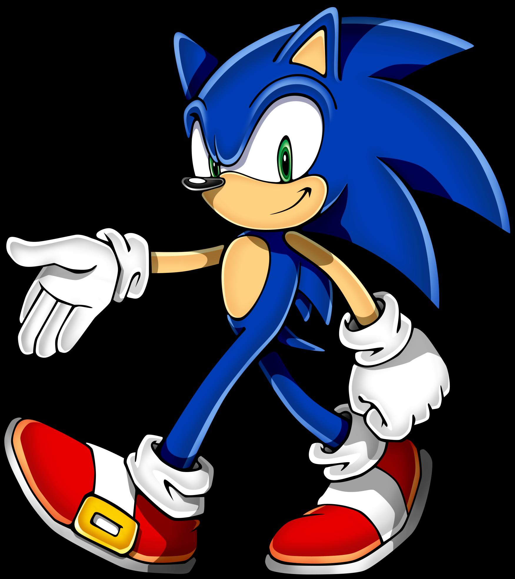 Hedgehog clipart vector. Sonic characters n free