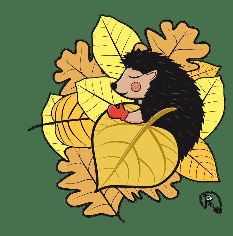 Hedgehog clipart winter. Dreams markus ruchter illustration