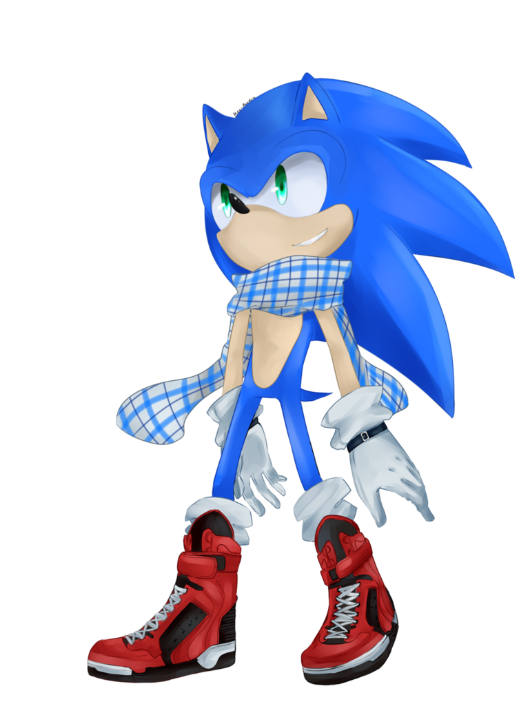 Hedgehog clipart winter. Sonic ver by alice