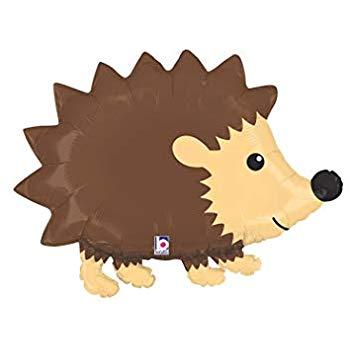 Hedgehog clipart woodland. Betallic p shop balloon